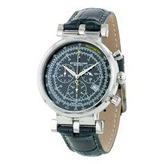 Men's Trackmaster Swiss Quartz Chronograph Stuhrling Original. $178.50. Save 71%!