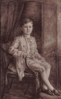 Archibald William Alexander Montgomerie, 17th Earl of Eglinton (16 October 1914–1966) was the son of Archibald Montgomerie, 16th Earl of Eglinton.  He was educated at Eton and New College, Oxford. On 10 November 1938, he married Ursula Joan Watson and they had four children.