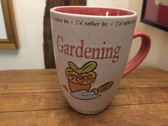 History & Heraldry Gardening Mug great Gift  #HistoryHeraldry