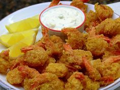 All-You-Can-Eat Crisp Cornmeal Shrimp