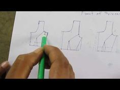 This Video About Princess Cut Blouse Discussion/Tutorial So Watch This Video .You Can Learn Perfect Like Professionally Work. Lesson 2 - How to make a simple kurti/dress - drafting pattern on paper (body sloper) - easy diy Dress Neck Designs, Blouse Designs, Blouse Patterns, Sewing Patterns, Stitch Patterns, Princess Cut Blouse Design, Sewing Classes For Beginners, Stitching Classes, Princess Line Dress