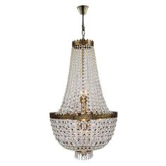 Worldwide Lighting Metropolitan 8-Light Empire Chandelier