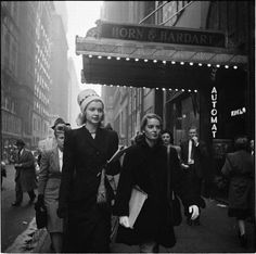 NYC. Special street shot // Photo by Stanley Kubrick for Look magazine