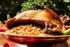If you visit Turkey you have to try the Kaburga Dolması.