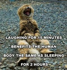 LAUGHING FOR 15 MINUTES BENEFITS THE HUMAN BODY!