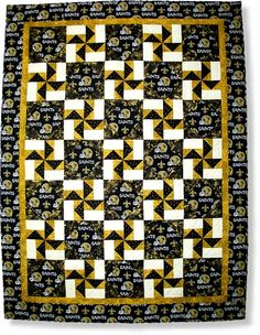 Laissez Les Bons Temps Rouler! - New Orleans Saints Pattern