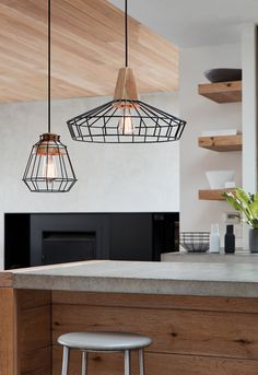 The beacon lighting orion 15 light pendant in black with smoke glass the beacon lighting reuben 1 light black coolie wire pendant with ash wood detail aloadofball