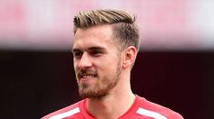 Arsenal's Aaron Ramsey Haircut
