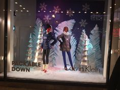 Christmas windows at Macy's, downtown Chicago.
