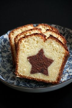 Cake marbré étoilé