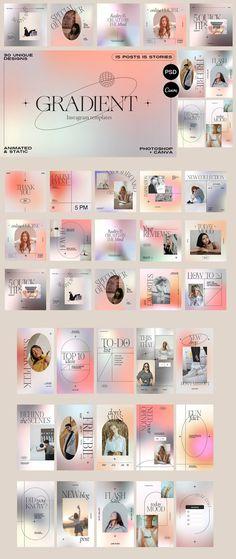 Social Media Branding projects | Foto's, video's, logo's, illustraties en merknamen op Behance Web Design, Font Design, Design Typography, Graphic Design Posters, Graphic Design Inspiration, Layout Design, Fashion Graphic Design, Modern Graphic Design, Bussiness Card