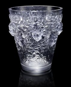 indigodreams: René Lalique 'Silènes' a Vase, design 1938