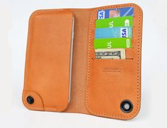 iPhone+6+leather+wallet+case+by+semofir+on+Etsy
