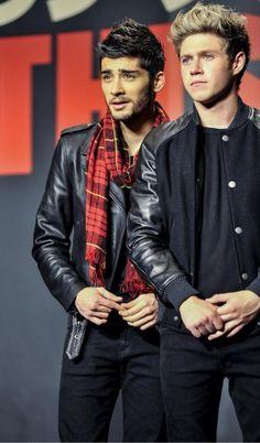 Zayn and Niall