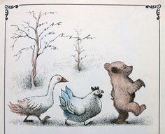 Maurice Sendak and Else Minarik : the Little Bear stories . 1957 An enchanted part of many childhood memories .