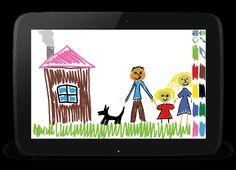 Рисовалка для детей на планшет Андроид скачать бесплатно