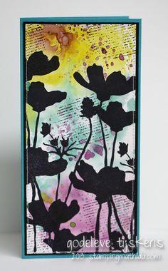 StampingMathilda: Wild Poppies Card