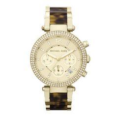 Michael Kors Damenchronograph Parker Glitz (MK5688) | Markenuhren.de – Uhren finden, Preise vergleichen