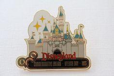 Opening Day - Disneyland Castle 1955