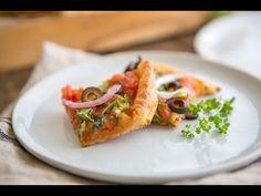 Paleo Pizza with a Yuca Dough Crust