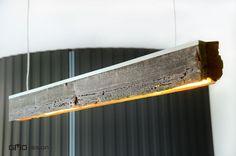Lampa RIFT-dół. Stare drewno - Bogate Wnętrza