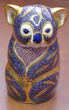 Royal Crown Derby Koala Bear Figurine or Paperweight Excellent Mint   eBay