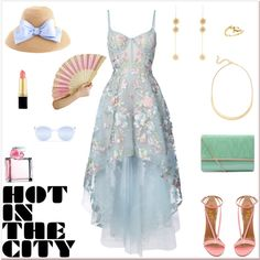 Formal Summer Glam by rboowybe on Polyvore featuring Notte by Marchesa, Nordstrom, Sonia Rykiel, Quay, Ralph Lauren and contestentry