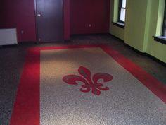 John S Kitchen Before And After Linoleum Tile Flooring