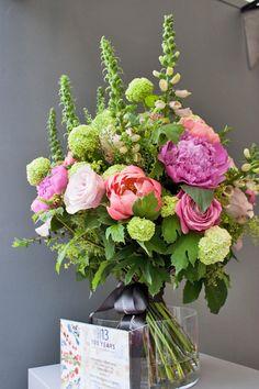 RHS Chelsea Flower Show 2013 – Florist Nikki Tibbles of Wild at Heart's stand | Flowerona