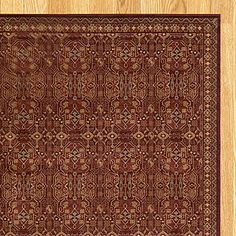 Red Stained Glass Rug | Rugs| Home Decor | World Market