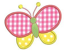 butterfly applique pattern free - Google Search