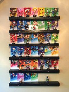 How To: Amiibo Wall Display | Amiibo News | Amiibo Alerts