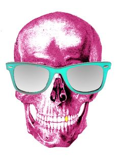 Fashion Skull by Thiago Vieira, via Behance