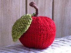 Apple Knitting Pattern, Free