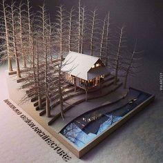 House Model by Ivan Fernando Kalalo in Indonesia