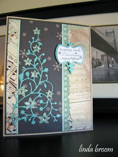 memory box flowering Christmas Tree + cards - Google Search