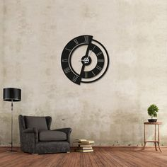 Wall Clock Wooden, Metal Clock, Laser Art, Wall Clock Design, Clock Decor, Woodworking Furniture, Apartment Design, Mosaic Art, Clocks