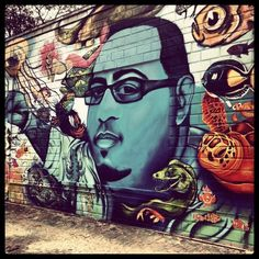 Street art.  St. Petersburg, FL