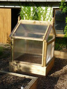 Serre 1m20 par 2m40 pour le potager en carre serre de jardin pinterest - Faire sa serre soi meme ...