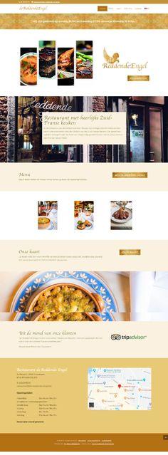 An Wens Webdesign - De Reddende Engel Restaurant, Angel, Diner Restaurant, Restaurants, Dining