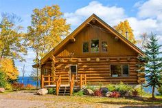 Luxurious Log Cabin on Lake Superior - VRBO