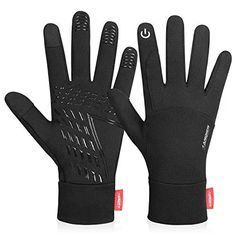 WFX Cycling Gloves Full Finger Best Quality Windproof Touchscreen Gel Palm Glove