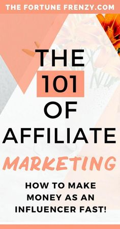 The 101 of Affiliate Marketing and how to make money as an influencer fast! Check out this post to learn everything you wanted to know about affiliate marketing and networks! Marketing Program, Business Marketing, Affiliate Marketing, Content Marketing, Online Marketing, Online Business, Marketing Training, Marketing Software, Media Marketing