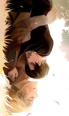 Attack on Titan (Shingeki no Kyojin) - Erwin Smith x Rivaille (Levi)