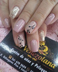 Nails Design, Makeup, Beauty, Ideas, Beige Nail, Make Up, Polish Nails, Gel Acrylic Nails, Short Nails