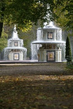 Peterhof Palace, Key Photo, Fountain, Saints, Arch, Mansions, House Styles, City, Water