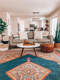 Get inspired by Bohemian Living Room Design photo by Joss & Main. Joss & Main lets you find the designer products in the photo and get ideas from thousands of other Bohemian Living Room Design photos. Design Living Room, Boho Living Room, Living Room Interior, Home And Living, Living Room Furniture, Bohemian Living, Bright Living Room Decor, Cute Living Room, Small Living