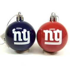 "New York Giants Official NFL 2"" Christmas Ball Ornament 12 Pack Football Fanatics http://www.amazon.com/dp/B00G355HCM/ref=cm_sw_r_pi_dp_tkLdub0D10FNW"