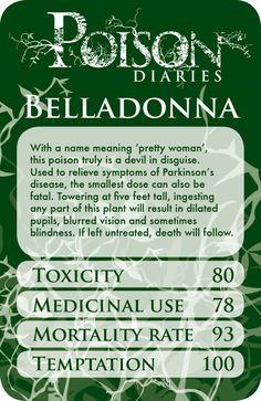 Poisonous Plants:  #Belladonna.