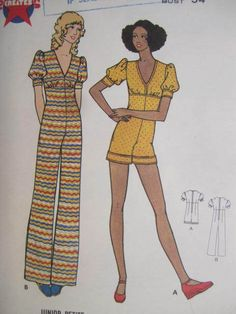 See Sally Sew-Patterns For Less - Jumpsuit Floor